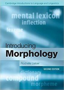 Introducing Morphology 2nd edition