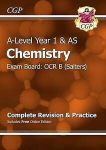 New ALevel Chemistry OCR B Year 1 amp AS Complete Revision amp Practice with - Norwich, United Kingdom - New ALevel Chemistry OCR B Year 1 amp AS Complete Revision amp Practice with - Norwich, United Kingdom