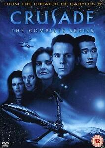 Babylon 5 The Crusade Complete Series DVD Sci-Fi TV Series Region 2 New