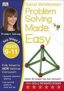 Problem-Solving-Made-Easy-KS2-Ages-9-11-by-Carol-Vorderman-Paperback-2016