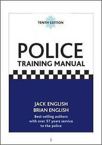 Police Training Manual, 10/e,