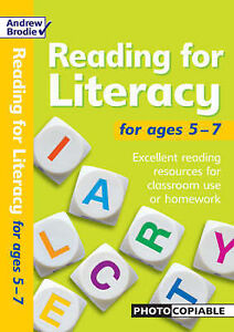 Brodie Andrew-Reading For Literacy For Ages 5-7  BOOK NEW