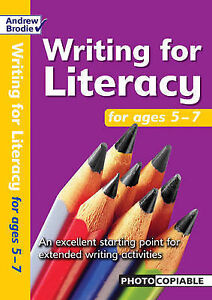 Brodie Andrew-Writing For Literacy For Ages 5-7  BOOK NEW