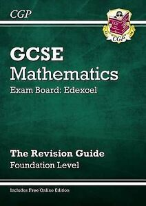 GCSE Maths Edexcel Revision Guide (with Online Edition) - Foundation by Richard…
