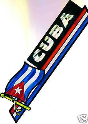 Cuba, República de Cuba Flag Bumper Sticker NEW