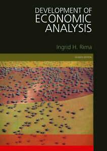 Development of Economic Analysis by Ingrid H. Rima (Paperback, 2008)