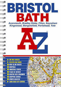 Bristol and Bath Street Atlas, , Very Good Book