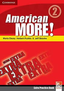 American More! Level 2 Extra Practice Book, Lewis-Jones, Peter, Holzmann, Christ