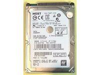 Hgst 500gb Sata Hard Drive Apple/pc Macbook Pro Laptop 2.5 Notebook Ps3