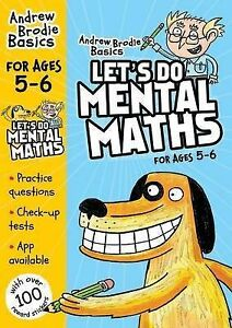 Brodie Andrew-Let`S Do Mental Maths For Ages 5-6  BOOK NEW