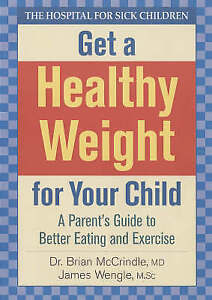 Mccrindle-Get A Healthy Weight For Your Child  BOOK NEW