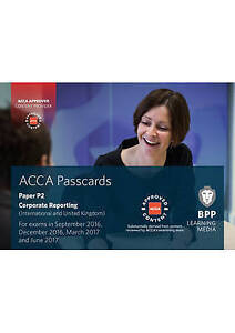 ACCA P2 Corporate Reporting (International): Passcards by BPP Learning Media (Sp