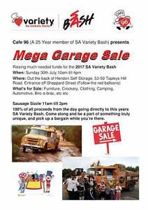 Mega Garage Sale 30/7/17 Hendon Charles Sturt Area Preview