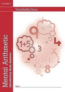 Mental-Arithmetic-Introductory-Book-Answers-by-Lynn-Spavin-Paperback-2000