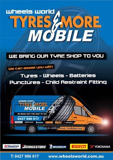 """Change The Way You Change Your Tyres 17"""" From $85"""