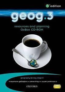 geog.3: resources & planning OxBox CD-ROM, Edwards, John, King, Anna, Jenkinson,