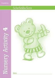 Nursery Activity Book 4, Linaker, Kathryn, New Book