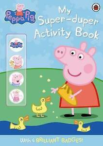 Peppa Pig: My Super-duper Activity Book by Ladybird (Paperback, 2009)