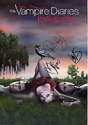 Vampire Diaries Signed