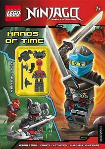 LEGO NINJA HANDS OF TIME (Activity Book With Minifigure)	9781405286237