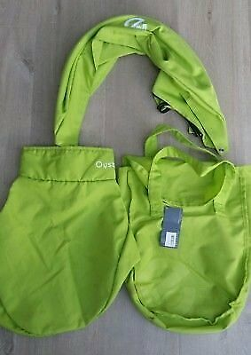 Oyster Carrycot colour pack green. still has tags on