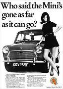 Classic Mini Poster