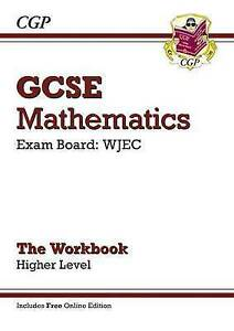 GCSE-Maths-WJEC-Workbook-with-online-edition-Higher-Very-Good-Condition-Boo