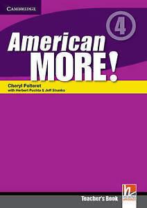 American More! Level 4 Teacher's Book, Lewis-Jones, Peter, Holzmann, Christian,