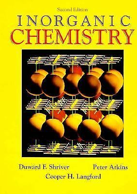 Inorganic Chemistry by D. F. Shriver for sale  Shipping to India