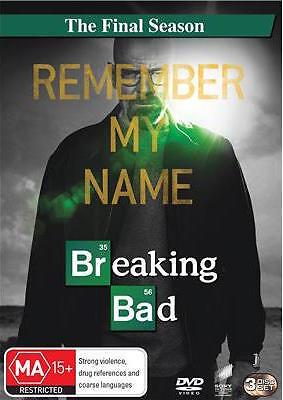 BREAKING BAD The FINAL Season : NEW DVD
