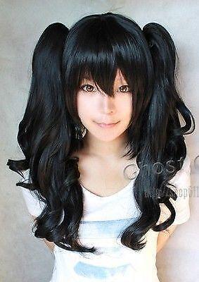 long black ponytail wig ebay