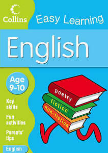 English age 9-10 by Collins Easy Learning (Paperback, 2008)