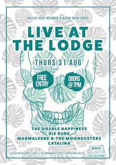 Live At The Lodge - free gig [surf, garage, voodoo, reverb!]