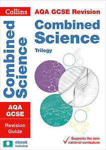 AQA GCSE Combined Science Trilogy Revision Guide by Collins GCSE (Paperback,...