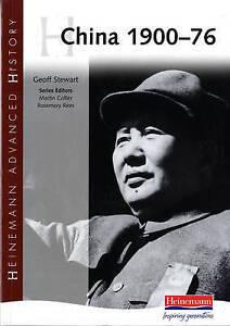 Heinemann Advanced History: China, 1900-76, Geoff Stewart