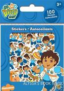Go Diego Go Stickers