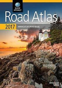 NEW Rand McNally 2017 Road Atlas: United States, Canada, Mexico by Rand McNally