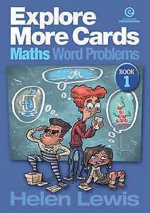 NEW Explore More Cards - Maths Word Problems Yrs 4-5 by Helen Etc Lewis
