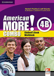 American More! Level 4 Combo B with Audio CD/CD-ROM, Lewis-Jones, Peter, Holzman