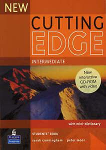 Longman NEW CUTTING EDGE Intermediate Students' Book with CD-ROM @NEW@