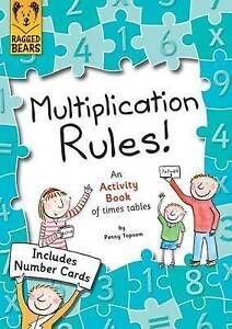 Multiplication Rules: An Activity Book of Times Tables by Penny Topsom (Paperba…