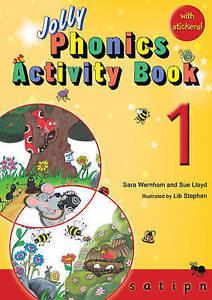 Jolly Phonics Activity Book 1: s,a,t,i,p,n by Sue Lloyd, Sara Wernham (Paperbac…