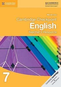 Cambridge Checkpoint English Teacher039s Resource 7 Cambridge International Exami - <span itemprop='availableAtOrFrom'>Gillingham, United Kingdom</span> - Cambridge Checkpoint English Teacher039s Resource 7 Cambridge International Exami - Gillingham, United Kingdom