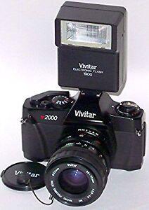 Vivatar V2000 w/flash & 70-200 tokina zoom lens St. John's Newfoundland image 1