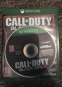 Xbox One Black Ops 3 mint condition and Black ops 1 Peterborough Peterborough Area image 2
