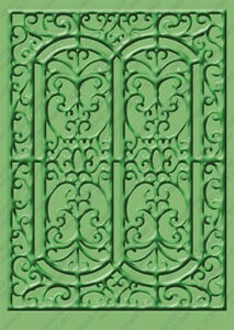 "Cuttlebug 5""x7"" MADISON embossing folder - $9"