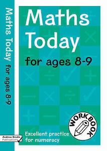 Brodie Andrew-Maths Today For Ages 8-9  BOOK NEW