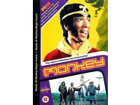 Monkey 1-13, classic tv series. 4 x DVD Box Set UK/Europe REGION 2