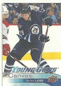 2016-17 Patrik Laine Young Gun Canvas rookie hockey card Kingston Kingston Area image 1