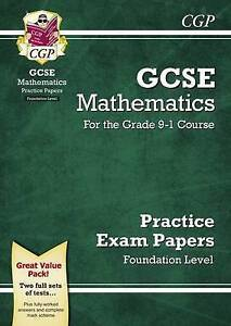 New GCSE Maths Practice Papers: Foundation - for the Grade 9-1 Course, CGP Books